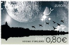 Finnish 2009 Postage Stamp
