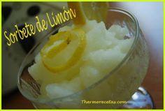 Sorbete de Limón THERMOMIX