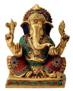 Buy Prathameshwara Lord Ganesha Hindu God at Gangesindia.com