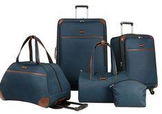 Nine West Luggage Round Trip 5 Piece Set Only $99 (Reg $360)