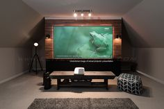 Planning to buy an affordable Fixed Frame Projection Screen? You are in the right place.