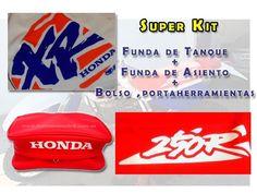 KIT SEAT COVER & TANK COVER & REAR FENDER BAGS HONDA XR250 250R,FREE SHIPPING!! #tsl