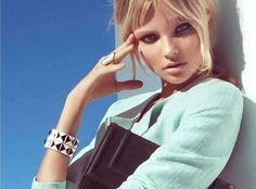 H & M Spring 2013 Campaign Shows a Sultry Magdalena Frackowiak (GALLERY)