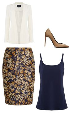 """Untitled #5841"" by ania18018970 on Polyvore featuring EGREY, Prada, Yves Saint Laurent and Armani Jeans"