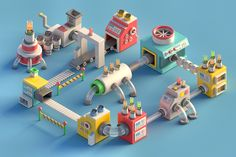Mini Machines on Behance