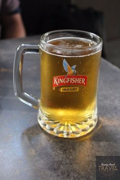 Kingfisher Beer in Mumbai, India Kingfisher Beer, Mumbai, Alcohol, India, Mugs, Tableware, Biryani Recipe, Dj, Travel