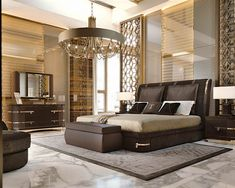 Italian Luxury Furniture for exclusive lifestyle in bedroom