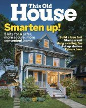 August 2016 This Old House magazine cover