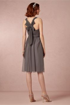 product   Tansy Bridesmaids Dress in slate grey from BHLDN