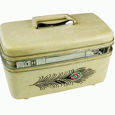 Samsonite Peacock Traincase, now featured on Fab.