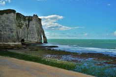 It was also Henri Matisse, Gustave Courbet and Eugene Boudin who, like Monet, have chosen Etretat's three natural arches as inspiration. Etretat France, Eugene Boudin, Gustave Courbet, Henri Matisse, France Travel, Monet, Playground, Monument Valley, Mount Rushmore
