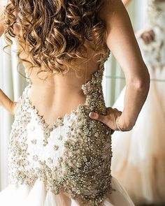 Details are the difference between good things and Great things. The perfect couture gown the Jewel.