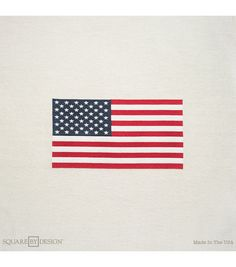 """Square By Design®-Flag 25"""" Woven Square"""