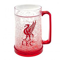 Liverpool FC Official Football Gift Plastic Freezer Tankard - A Great Christmas / Birthday Gift Idea For Men And Boys