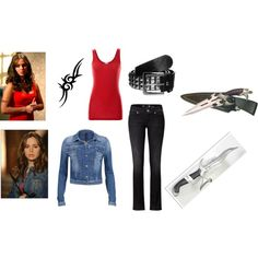"""Faith Lehane - Season 7"" by lelu2012 on Polyvore"