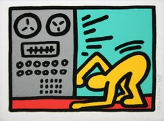 KEITH HARING - POP SHOP III (4) Size: 13.5 x 16.5 INCHES Year: 1989 Medium: SILKSCREEN Edition: OF 200 Description: Hand signed, dated and numbered in pencil. Artwork is in excellent condition. Certificate of Authenticity included. Additional images available upon request. Please contact Melissa@GallArt.com - (305)932-6166 for pricing.