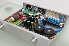 SHINE 7 - DIY audio balanced preamp with LME49720