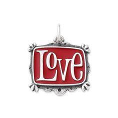 Enamel Vintage Love Charm #JamesAvery