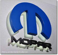 3D Mopar Logo