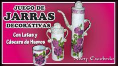 JUEGO DE JARRAS DECORATIVAS