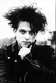 Robert Smith - lead singer The Cure