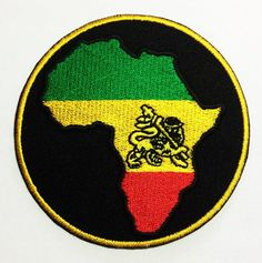 The Lion of Judah Africa Badge African Fashion DIY Applique Embroidered Sew Iron on Patch p204 *** Click image to review more details.