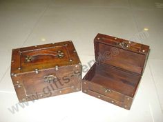 Decorated Wooden Boxes