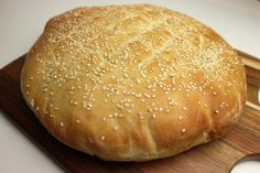 Turks Brood | Slowfoody Dutch Recipes, Greek Recipes, Rye Bread Recipes, Tasty, Yummy Food, Healthy Meals For Two, Healthy Food, Lunch Snacks, Bread Baking