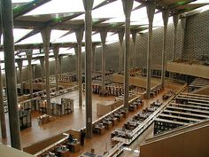Bibliotheca Alexandria inside