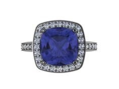 A personal favorite from my Etsy shop https://www.etsy.com/listing/200423423/engagement-ring-blue-sapphire-diamond