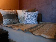"""Plaid patchwork réversible 'Autrefois"""" : Textiles et tapis par…"""