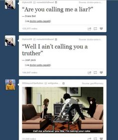 Tumblr Dashboards. Making puns with adjacent posts since 2005.