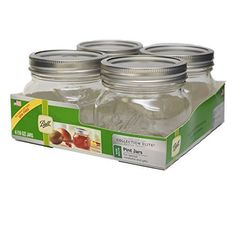 LoewCornell Ball Wide Mouth Canning Jar 16 oz 4 Per Package >>> Check out this great product.