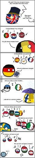#Germany #Polandballs #CountryBalls #9gag #Memes #meme