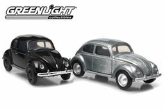 Each case comes with a stitched leather base and features 2 different versions of the car: Decorated and Raw Metal (Just like a real first test shot! Brand: Greenlight Make: Volkswagen Model: Beetle Colour: Unpainted/Black Series: Firstcut Age: Scale: Volkswagen Models, Black Series, Stitching Leather, Whats New, Beetle, Windows, Rolling Carts, June Bug, Beetles