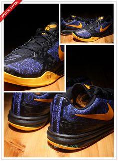 Black / Blue / Yellow 704942-501 Nike KB Mentality Fast Shipping
