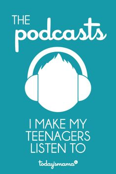 The best podcasts for teens. I listen to multiple podcasts every week and assign the best ones to my teenagers. Here's the list! Parenting Teens, Parenting Advice, Christian Podcasts, Kids Education, Education Quotes, Special Education, Up Girl, Raising Kids, Tween