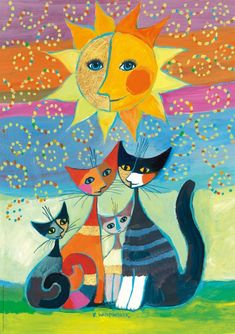 """""""Moments of Happiness (zoom)"""" par Rosina Wachtmeister"""