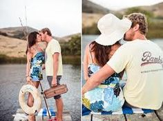 Fishing wedding picture ideas