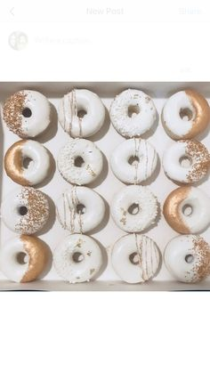 Made - Donuts Gold Donuts, Cute Donuts, Mini Donuts, Baked Donuts, Donuts Donuts, Donut Bar, Donut Shop, Doughnut, Wedding Donuts
