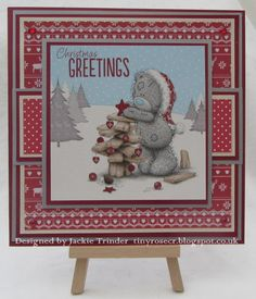 Tinyrose's Craft Room: Unicorn Challenge Blog - Christmas in July