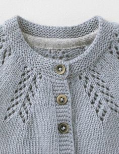 Cozy Baby Cardigan 71528 Knitwear at Boden