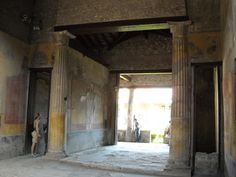 """""""Atrium"""" and """"Tablinum"""" - The """"House of Menander"""" at Pompeii, as a matter of fact of Quintus Poppaeus, related to Poppaea"""