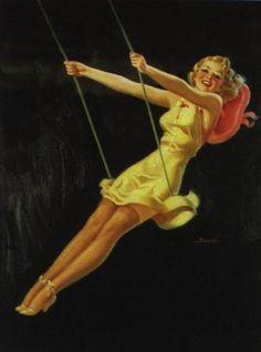 AL BUELL - TITLE: A Happy Swinger  DATE: 1941  NOTES: Publisher: Brown & Bigelow.