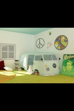 cute idea for a kids room :)