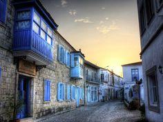 Alacati, the most beautiful little city in Turkey, near Cesme.