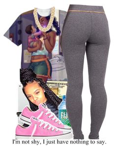 """""""."""" by peaches1121 ❤ liked on Polyvore featuring Converse and Michael Kors"""