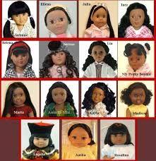 little girls from many lands...sweet dolls