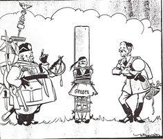 "Hitlers help to his Axis Partner Mussolini - Found in the Book ""Krieg auf dem Balkan"" (Janusz Piekalkiewicz)"