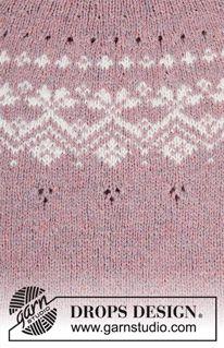Crochet Skirt Drops Design Libraries New Ideas Fair Isle Knitting Patterns, Knitting Paterns, Crochet Amigurumi Free Patterns, Crochet Blanket Patterns, Knitting Stitches, Free Knitting, Knitting Projects, Baby Knitting, Drops Design